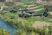 12821 - Serbia - Air Force Aerospatiale SA-341 / 342 Gazelle (all models) aircraft