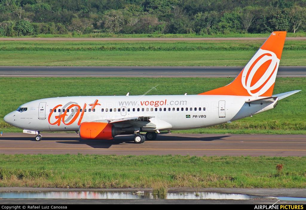 GOL Transportes Aéreos  PR-VBQ aircraft at Porto Alegre - Salgado Filho