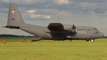 1504 - Poland - Air Force Lockheed C-130E Hercules