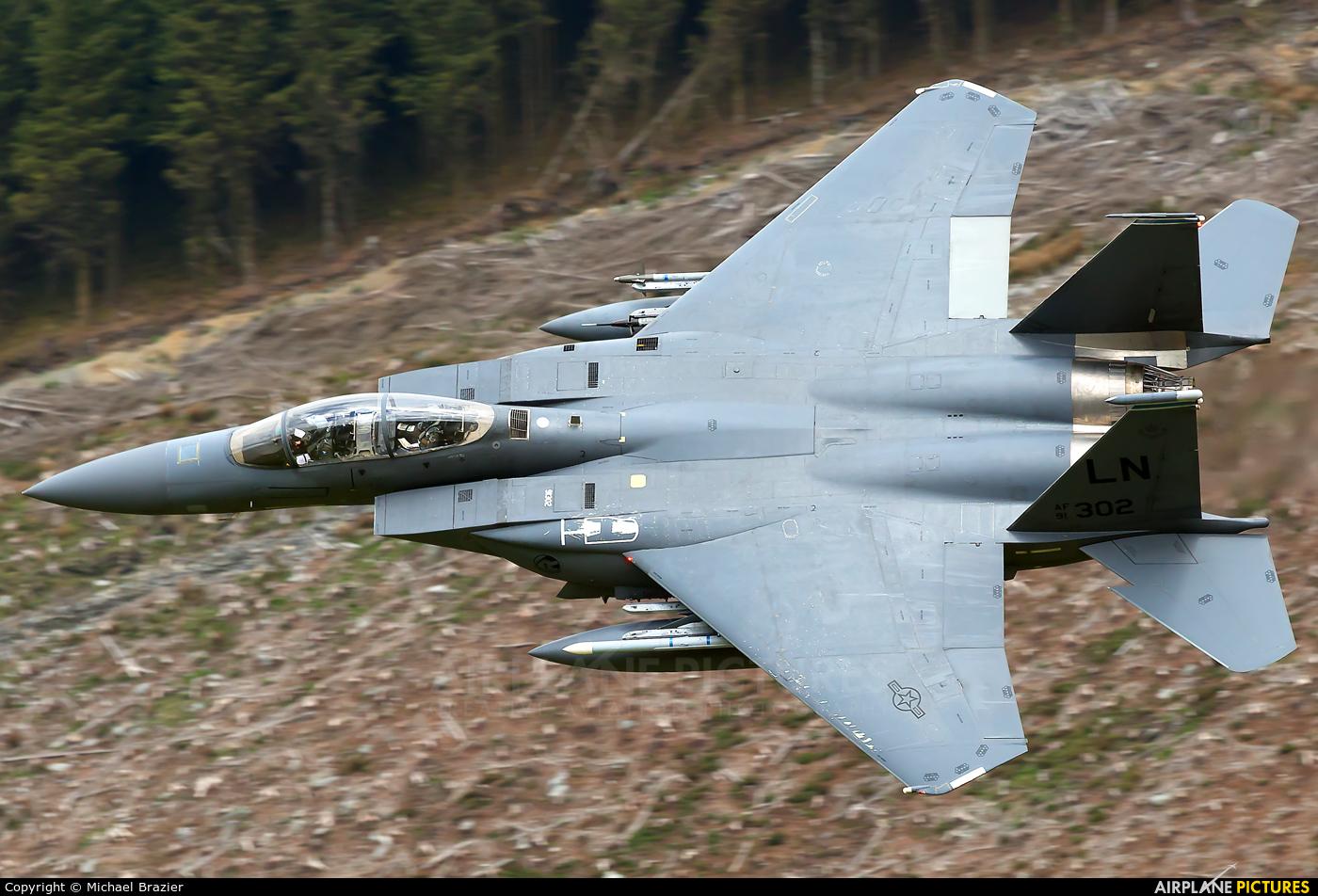 USA - Air Force 91-0302 aircraft at Bwlch Oerddrws - LFA 7