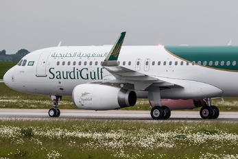 D-AVVN - SaudiGulf Airlines Airbus A320