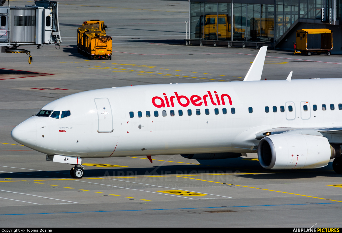 Air Berlin D-ABAF aircraft at Munich