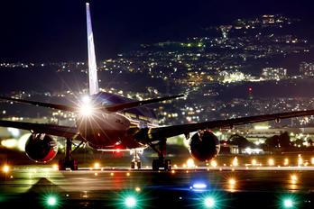 JA703A - ANA - All Nippon Airways Boeing 777-200