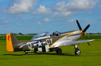 NX251RJ - Private North American P-51D Mustang