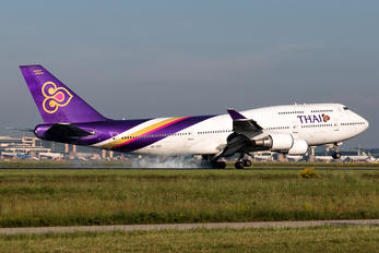 HS-TGT - Thai Airways Boeing 747-400