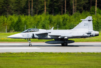 39211 - Sweden - Air Force SAAB JAS 39C Gripen