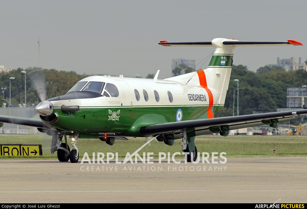 Argentina - Gendarmeria GN-812 aircraft at Buenos Aires - Jorge Newbery