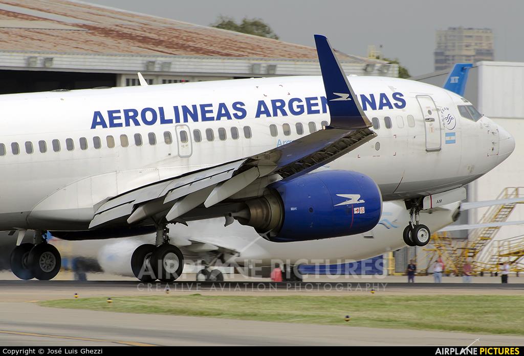 Aerolineas Argentinas LV-CAM aircraft at Buenos Aires - Jorge Newbery