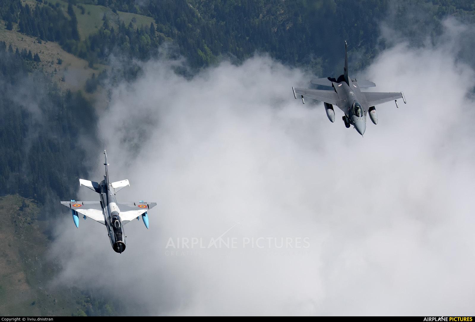 Romania - Air Force 6203 aircraft at In Flight - Romania