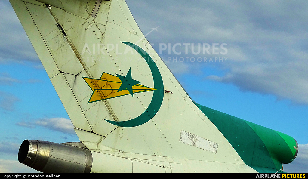 Air Mauritanie 5T-CLP aircraft at Perpignan - Rivesaltes (Llabanere)
