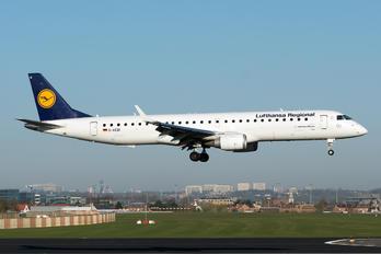 D-AEBI - Lufthansa Regional - CityLine Embraer ERJ-195 (190-200)