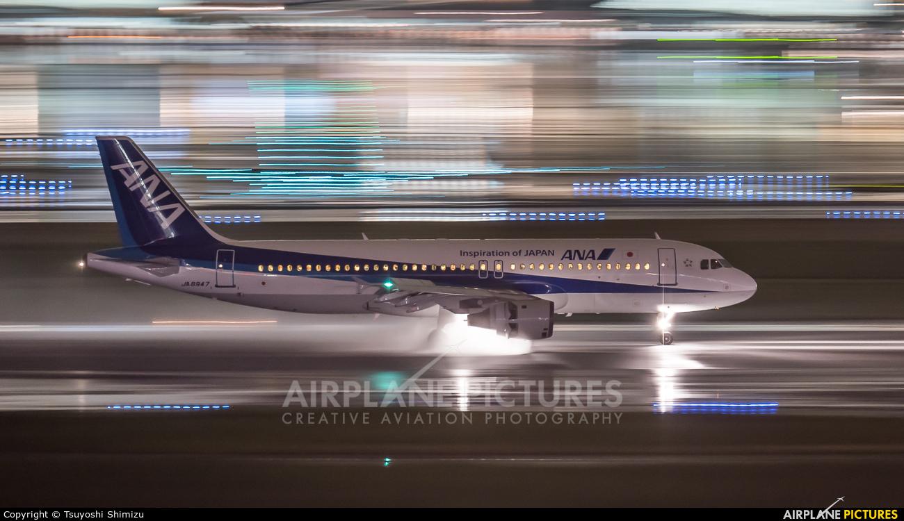 ANA - All Nippon Airways JA8947 aircraft at Tokyo - Haneda Intl