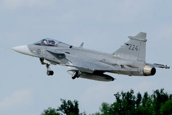 39224 - Sweden - Air Force SAAB JAS 39C Gripen