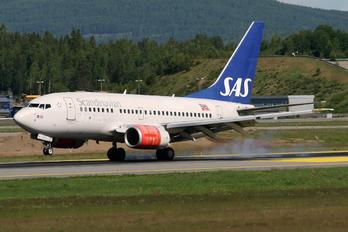 LN-RPU - SAS - Scandinavian Airlines Boeing 737-600