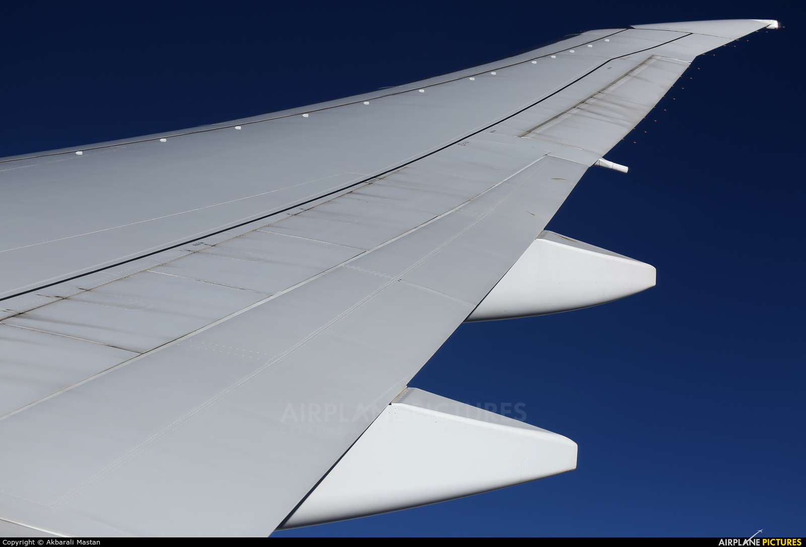 Emirates Airlines A6-ENG aircraft at In Flight - UAE
