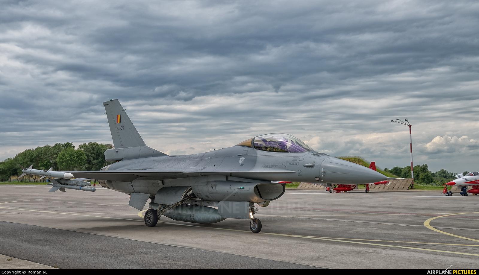 Belgium - Air Force FA-95 aircraft at Malbork