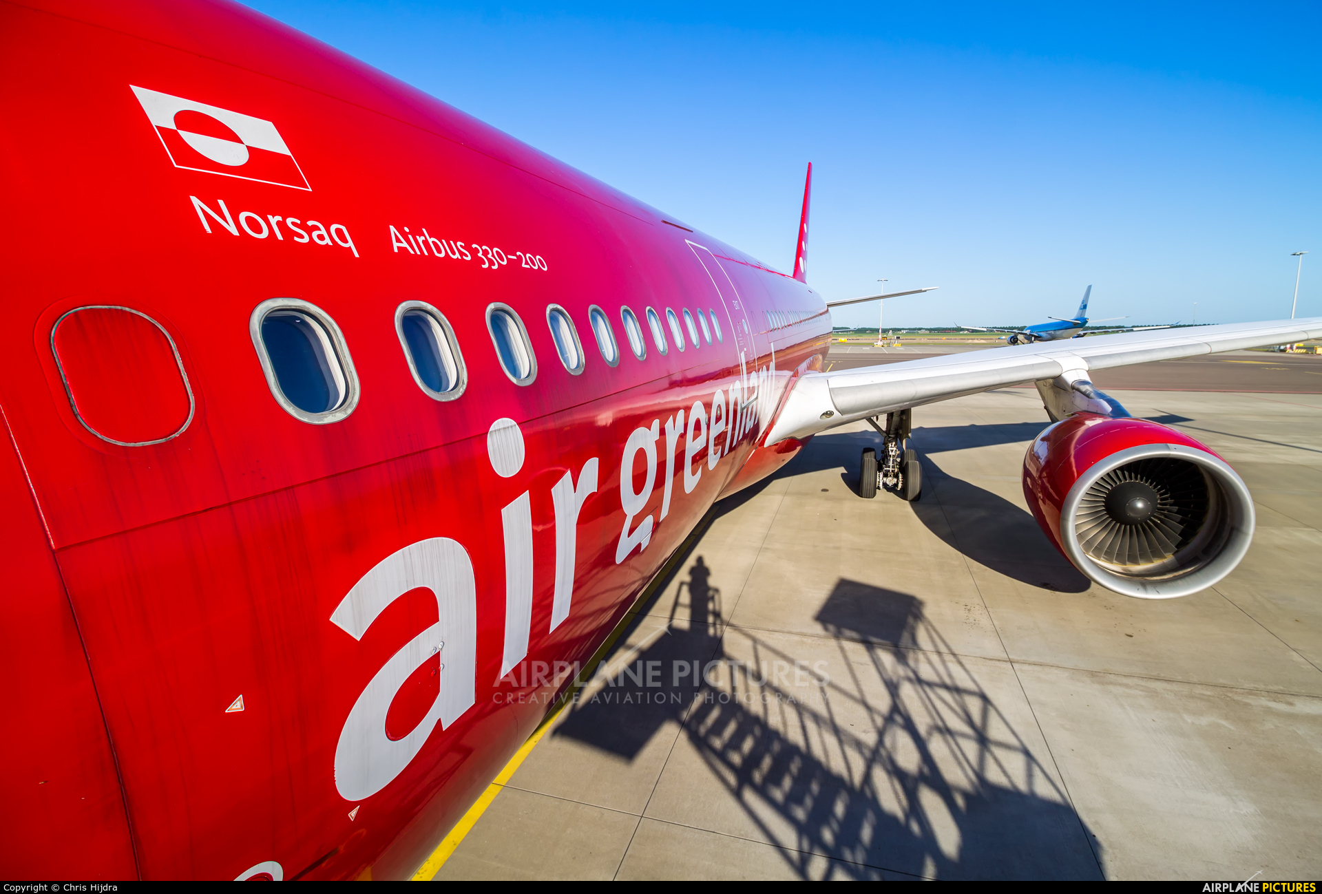 Air Greenland OY-GRN aircraft at Undisclosed location