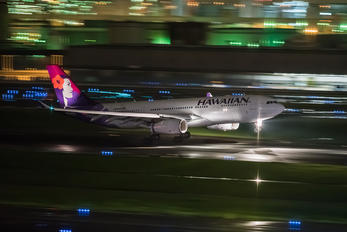 N391HA - Hawaiian Airlines Airbus A330-200
