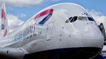 G-XLEB - British Airways Airbus A380 aircraft