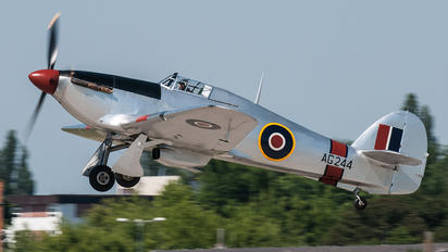 G-CBOE - Private Hawker Hurricane I