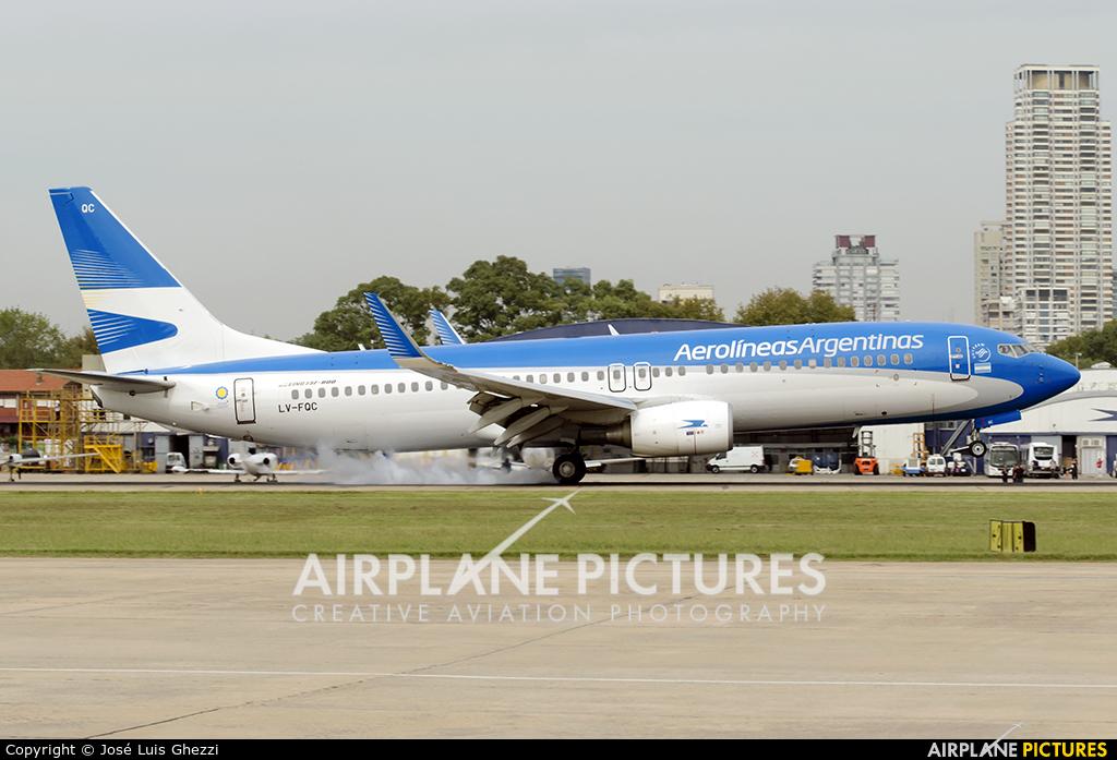 Aerolineas Argentinas LV-FQC aircraft at Buenos Aires - Jorge Newbery