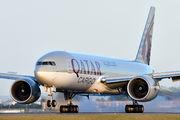 A7-BFG - Qatar Airways Cargo Boeing 777F aircraft