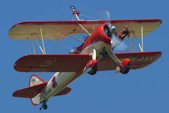 OE-AXX - Wing Walkers Boeing Stearman, Kaydet (all models)