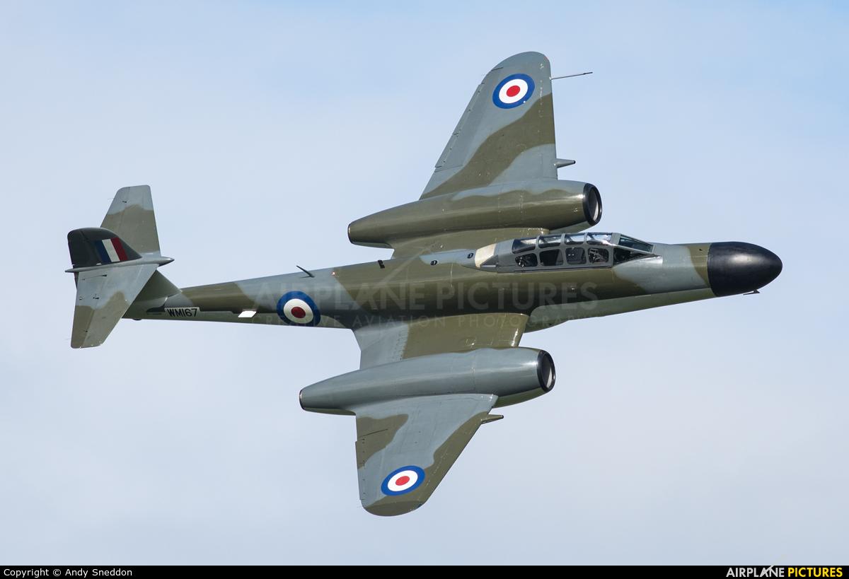 Classic Air Force G-LOSM aircraft at Abingdon