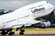 D-ABTC - Lufthansa Boeing 747-400 aircraft