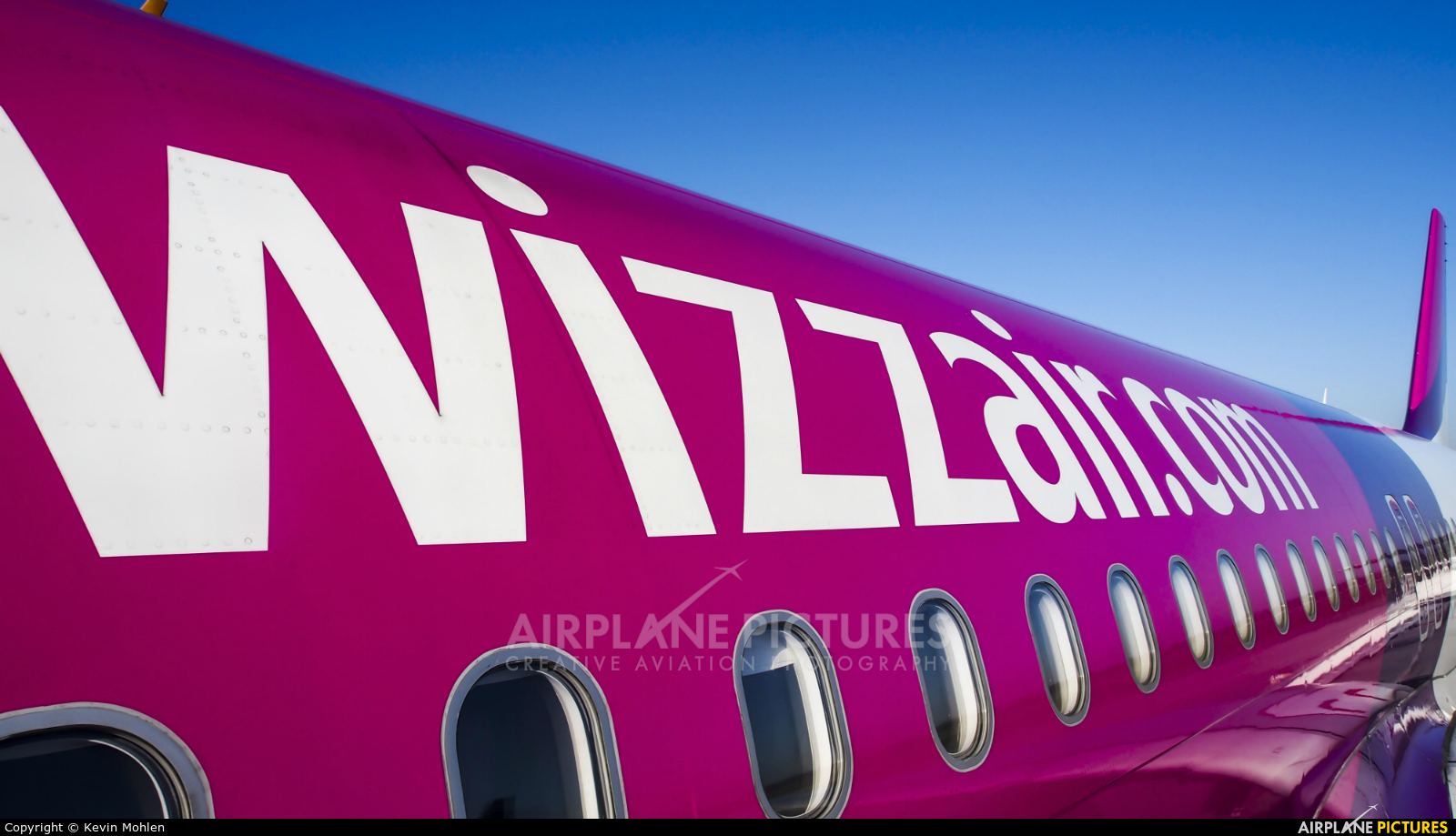 Wizz Air HA-LYL aircraft at Eindhoven