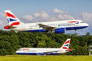 G-EUPM - British Airways Airbus A319 aircraft