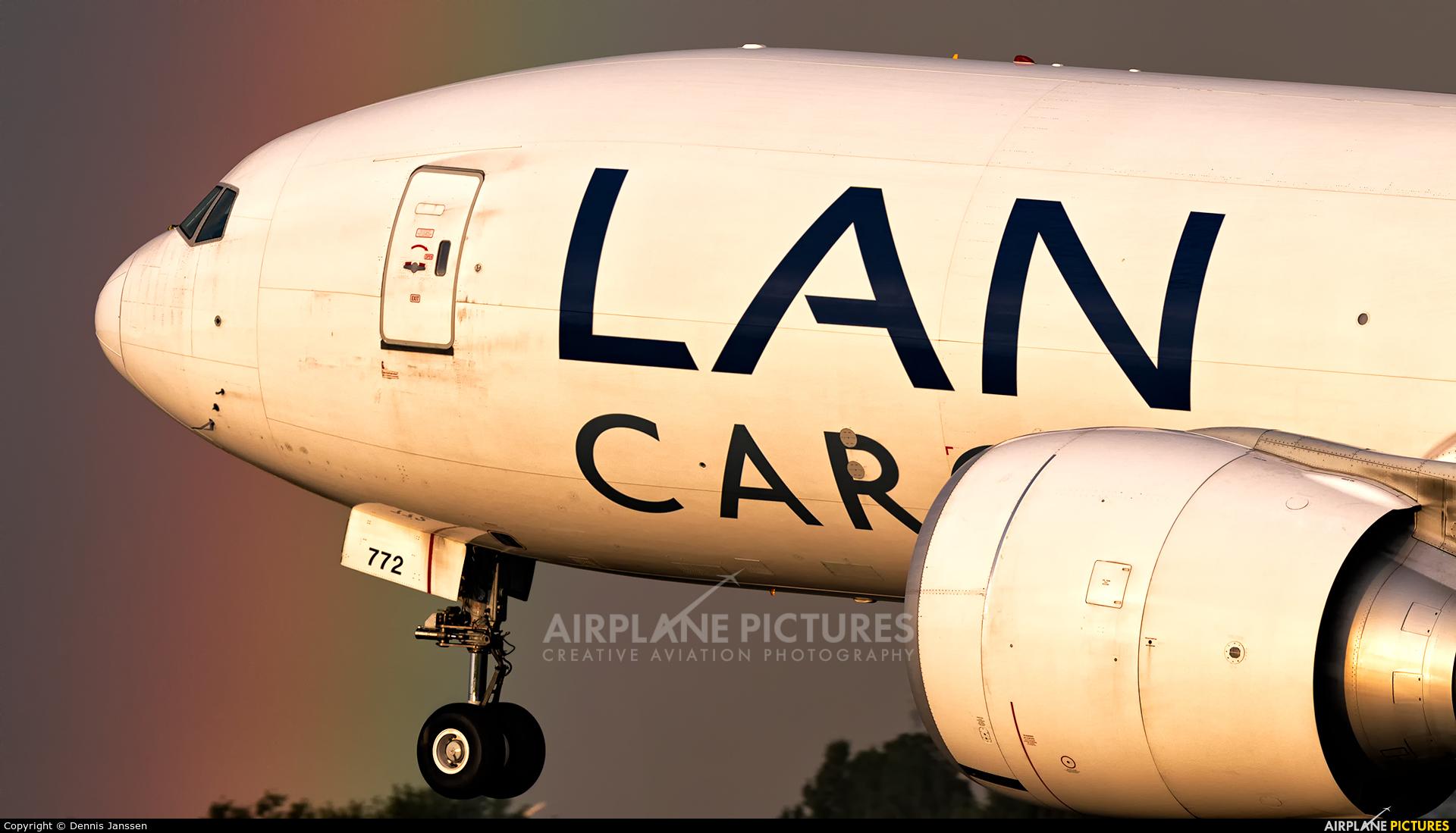 LAN Cargo N772LA aircraft at Amsterdam - Schiphol