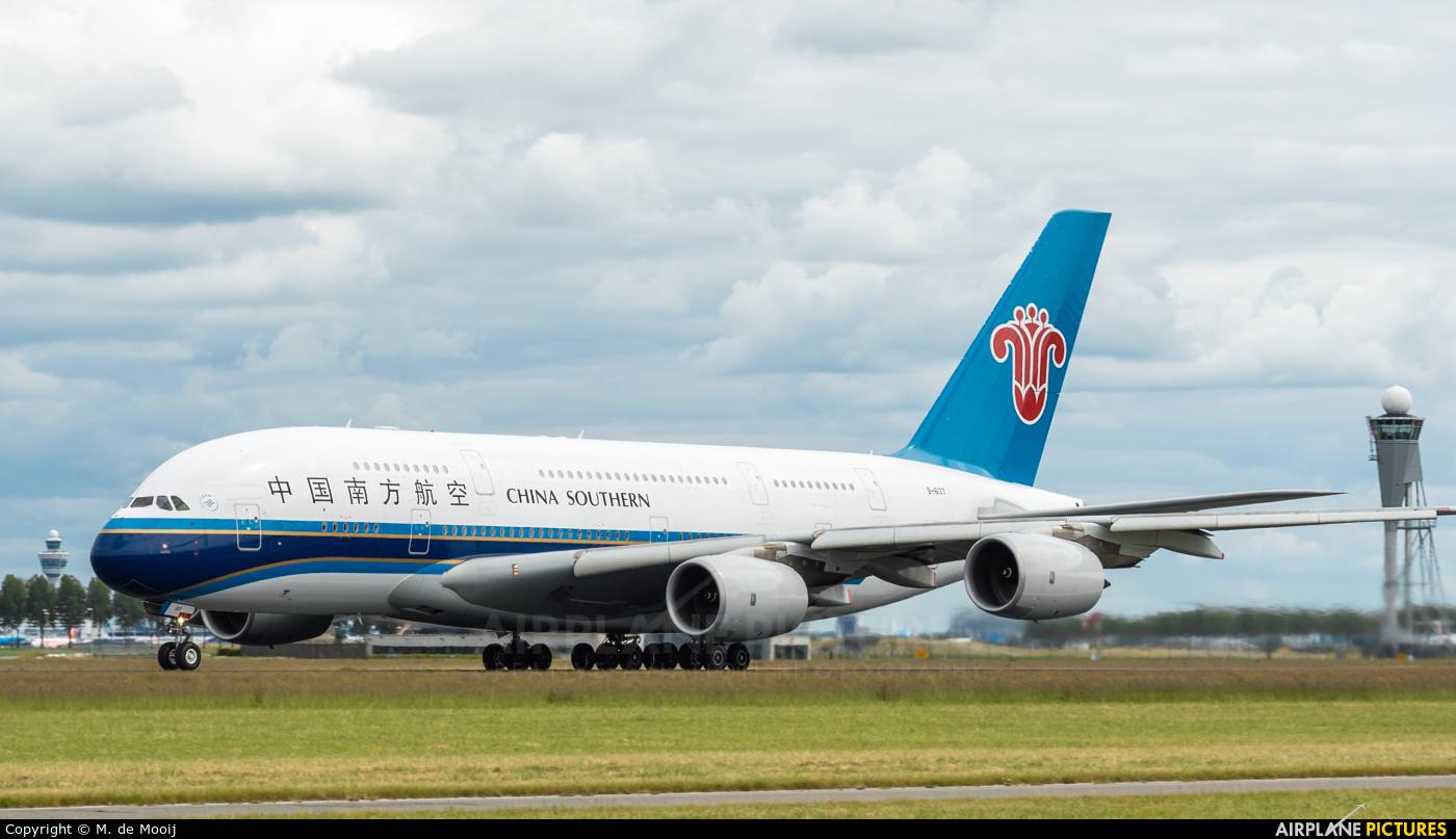 China Southern Airlines B-6137 aircraft at Amsterdam - Schiphol