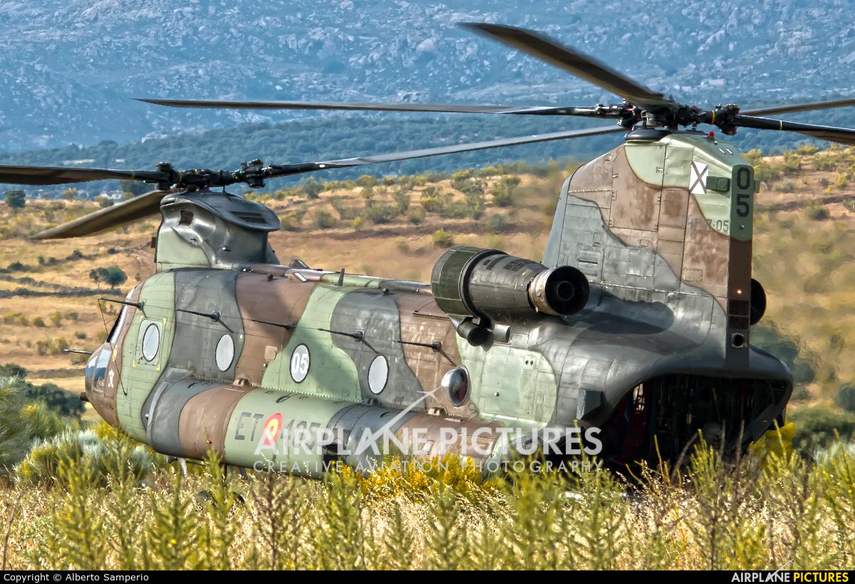 Spain - Army HT.17-05 aircraft at Colmenar Viejo