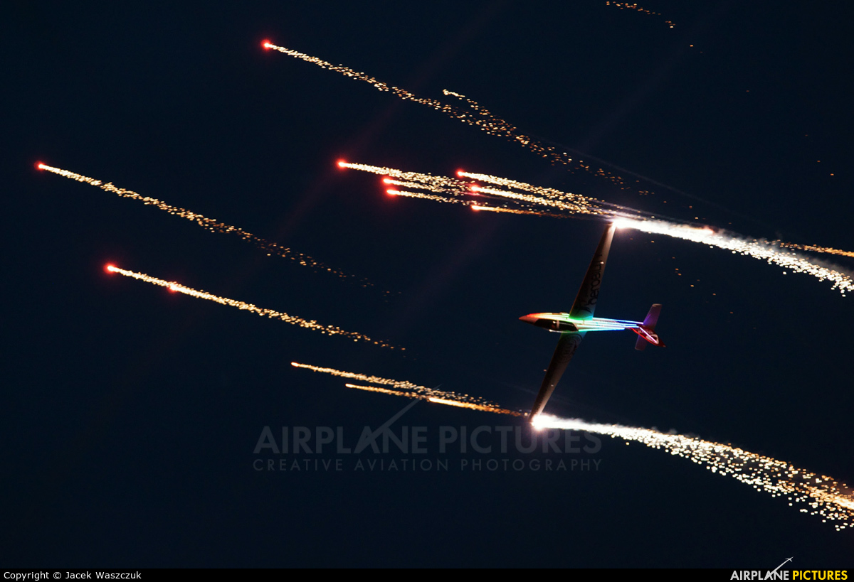 Swift Aerobatic Display Team G-IIFX aircraft at Leszno - Strzyżewice