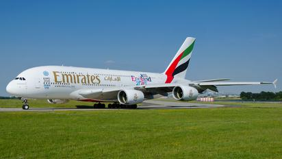 A6-EES - Emirates Airlines Airbus A380