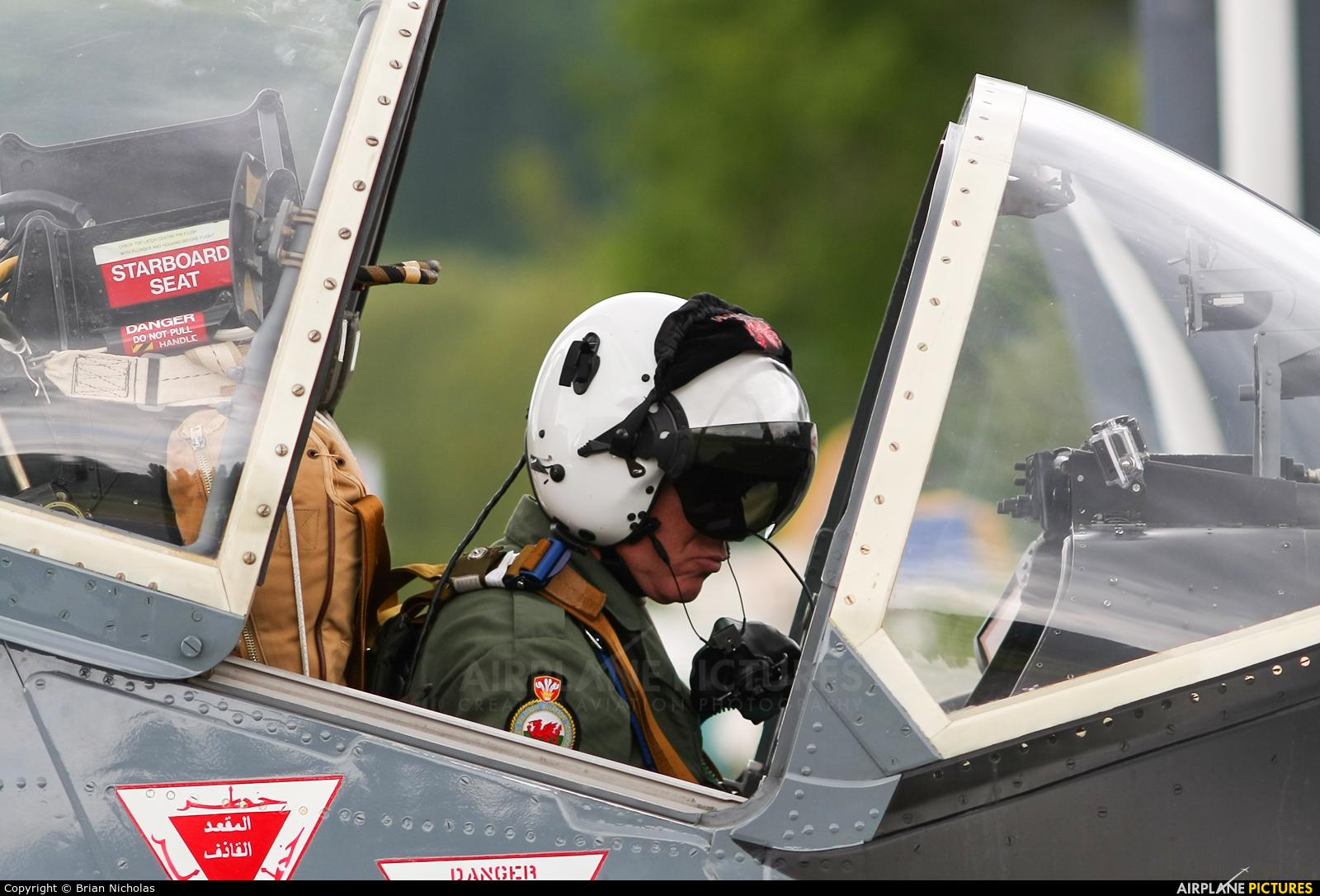 Strikemaster Flying Club G-SOAF aircraft at Welshpool