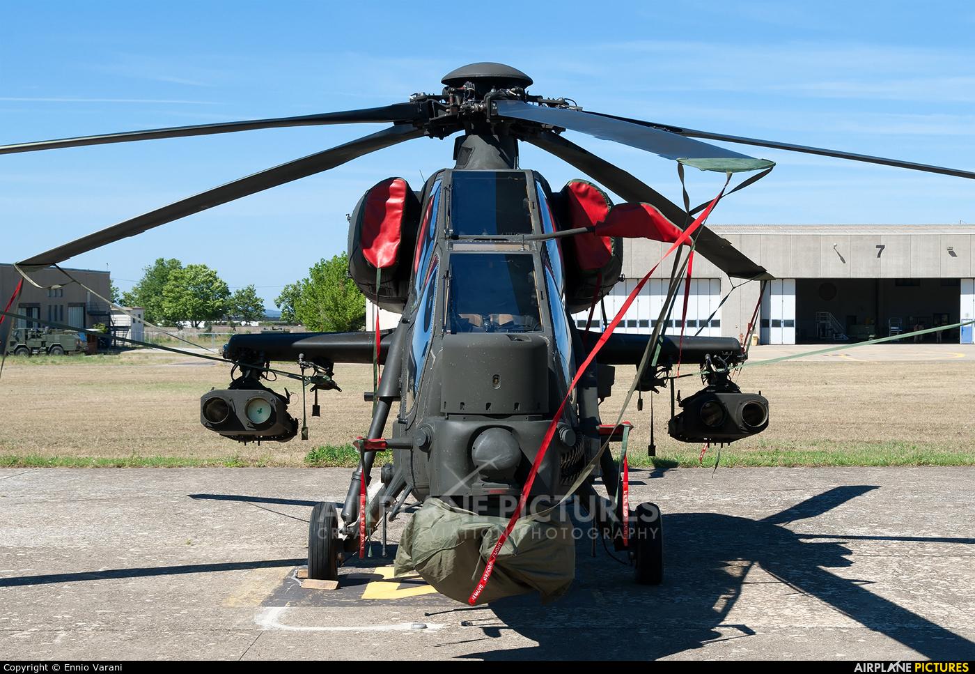 Italy - Army MM81428 aircraft at Rome - Viterbo