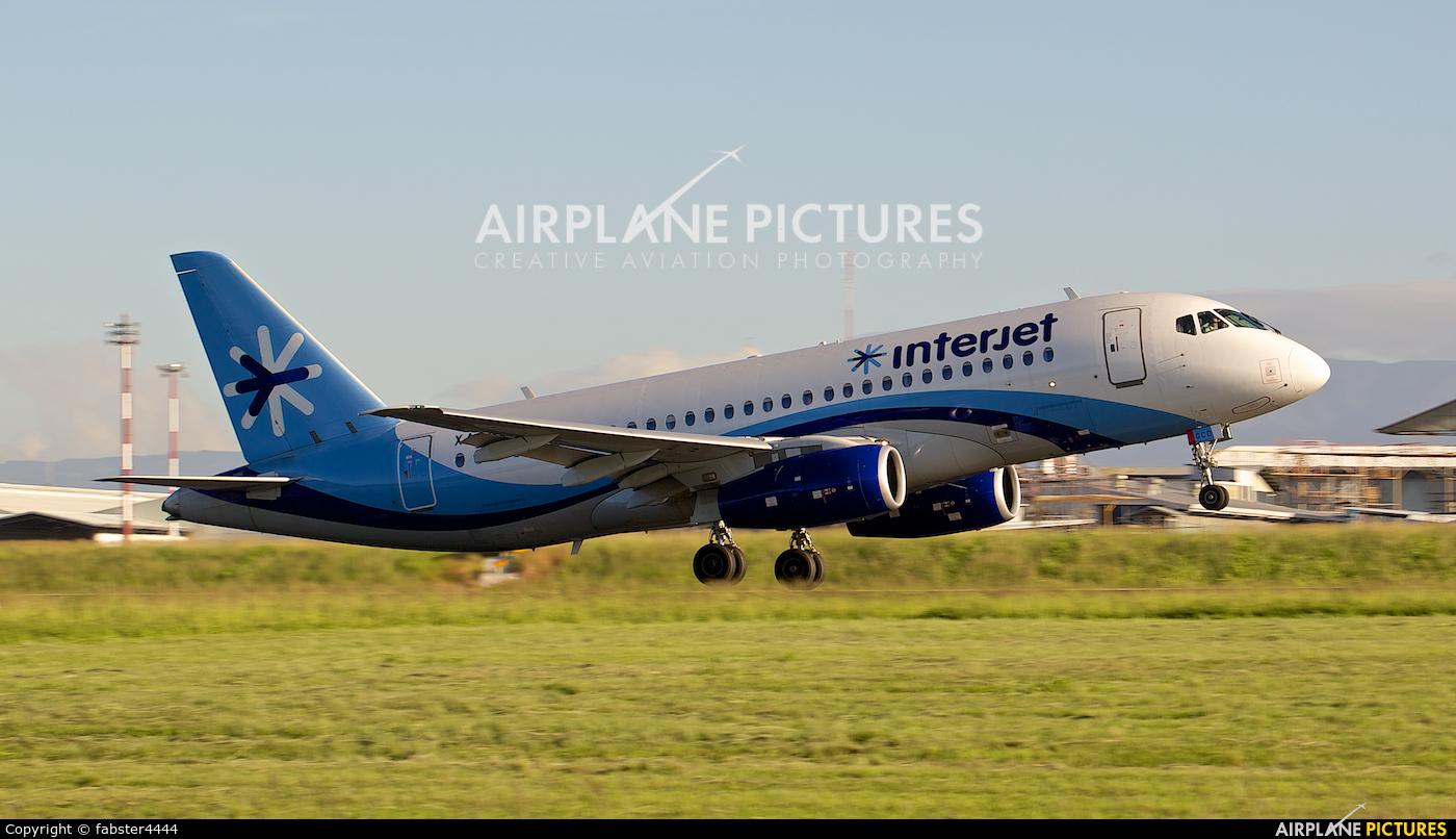 Interjet XA-GCD aircraft at San Jose - Juan Santamaría Intl