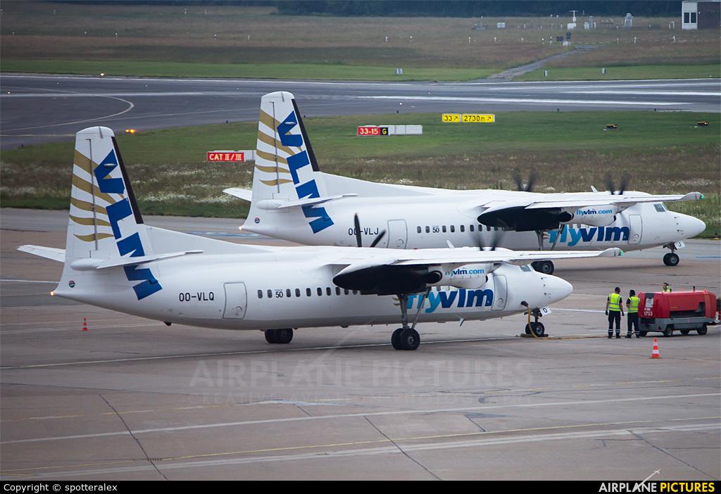 VLM Airlines OO-VLQ aircraft at Hamburg - Fuhlsbüttel