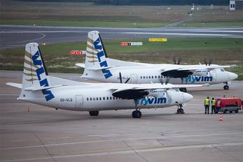 OO-VLQ - VLM Airlines Fokker 50