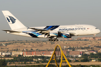 9M-MNB - Malaysia Airlines Airbus A380