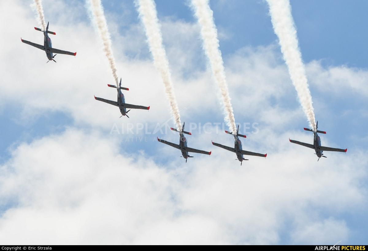 """Poland - Air Force """"Orlik Acrobatic Group"""" 050 aircraft at Warsaw - Babice"""