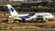 9M-MNB - Malaysia Airlines Airbus A380 aircraft