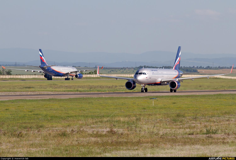 Aeroflot VQ-BSE aircraft at Simferopol International Airport (under Russian occupation)