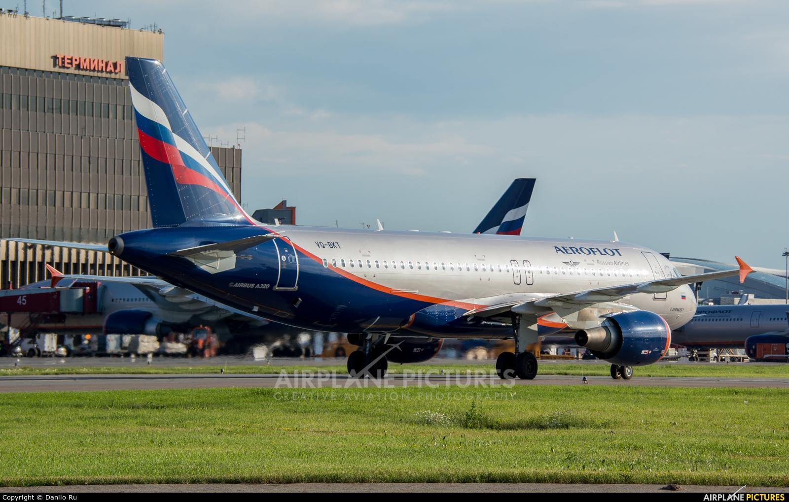 Aeroflot VQ-BKT aircraft at Moscow - Sheremetyevo