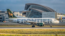 N918FR - Frontier Airlines Airbus A319 aircraft