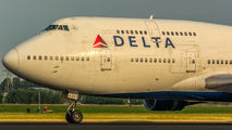 N663US - Delta Air Lines Boeing 747-400 aircraft