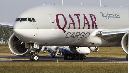 A7-BFB - Qatar Airways Cargo Boeing 777F