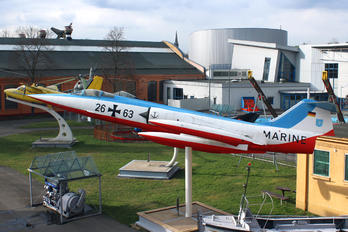26-63 - Germany - Navy Lockheed F-104G Starfighter